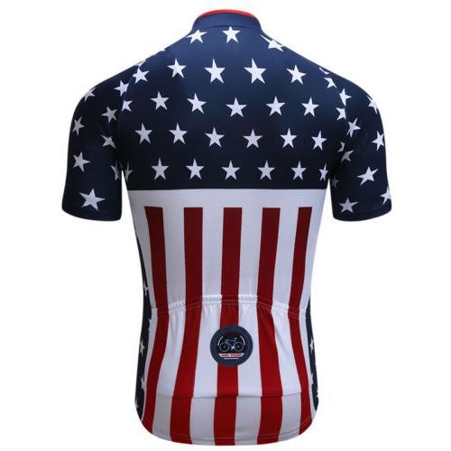 Men's Cycling Bicycle Shirt MTB Jerseys Tops