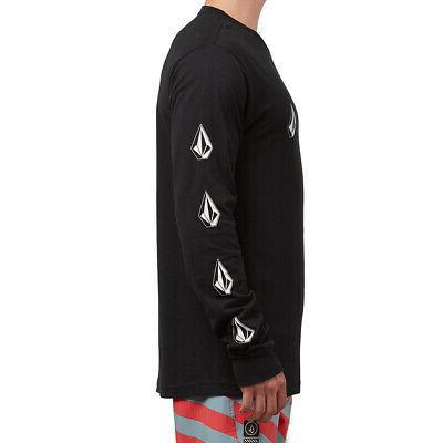 Volcom Long Sleeve T Black Clothing Apparel