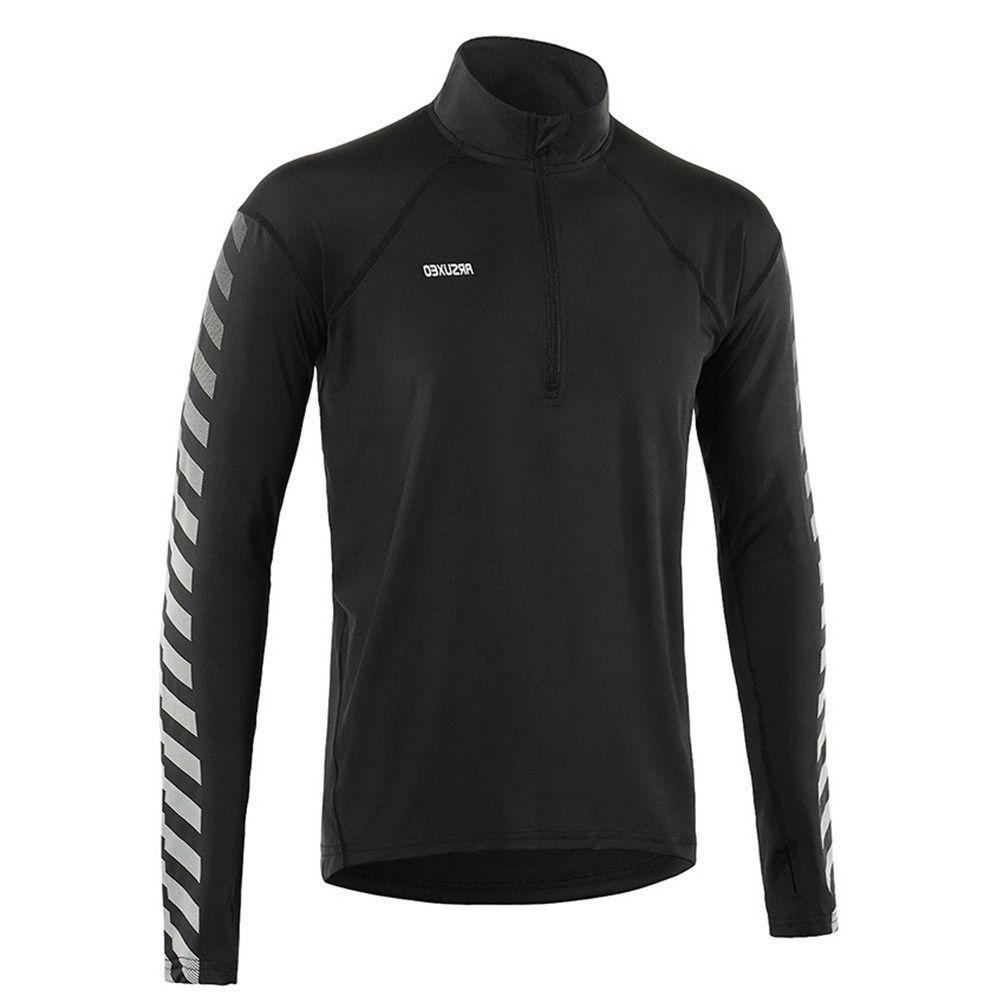 men s dry fit running shirts elastic