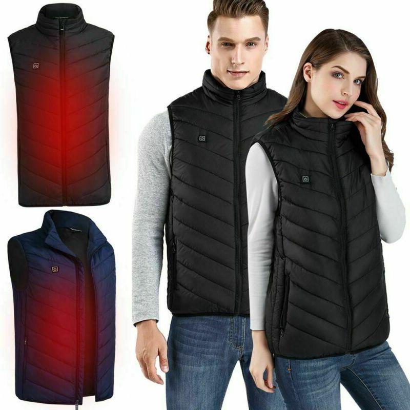 Mens Electric Winter Warmer Coat