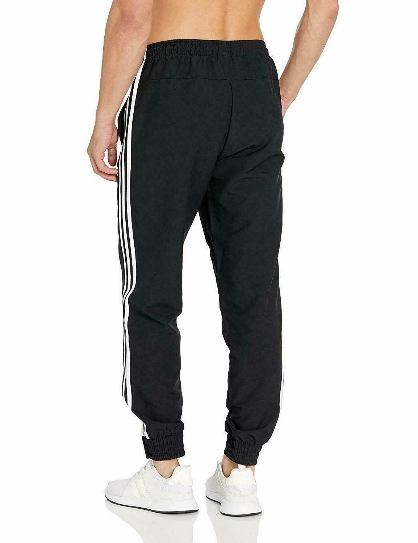 adidas Men's Essentials 3-stripes woven Pants White DZ8488