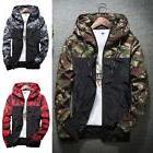men s fashion camouflage coat hoodies jacket