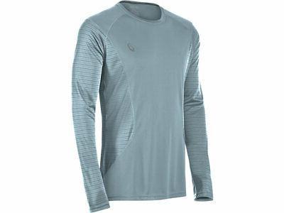 men s favorite printed long sleeve running