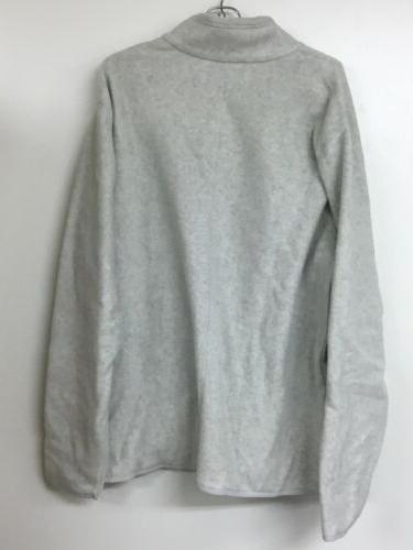 Amazon Essentials Men's Polar Fleece Jacket, Light Gray Heather, Large.