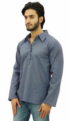 Atasi Roll-Over Shirt Neck Ethnic Clothing