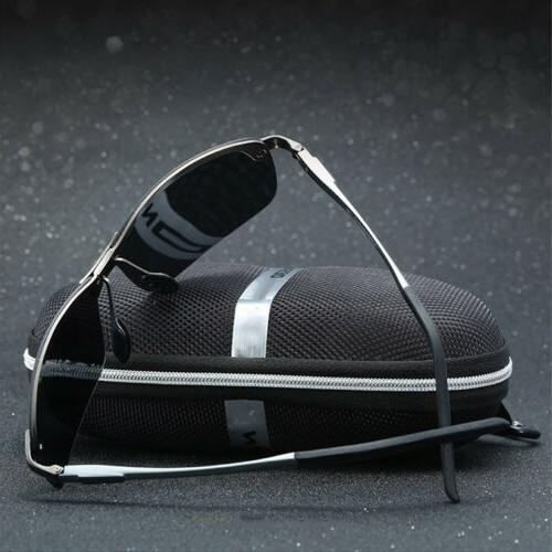 Men's HD Aviator Sunglasses Outdoor Sun
