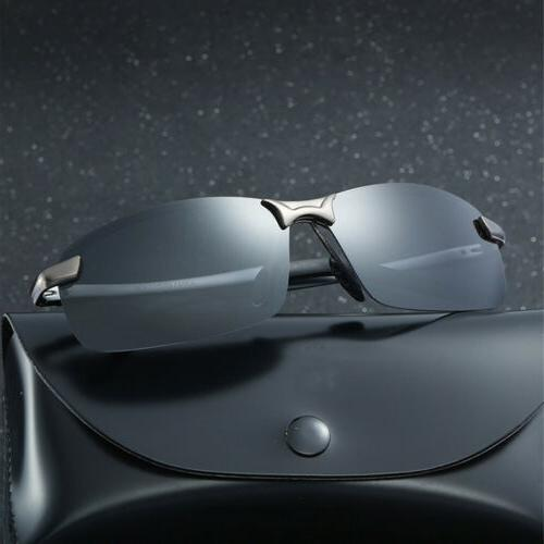 Men's HD Aviator Sunglasses Outdoor Driving UV400 Sun Glasses