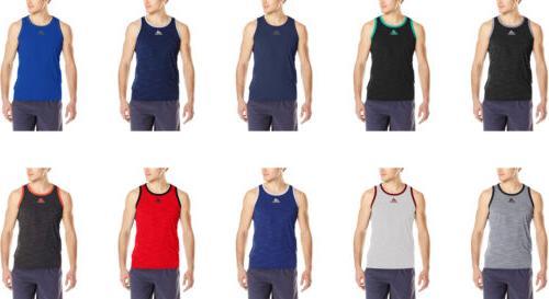 men s heathered tank top 13 colors