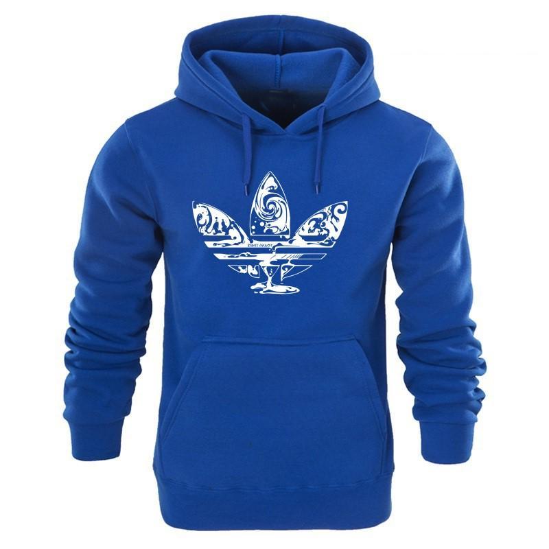 Men's Hoodie Adidas Cotton Fall Winter Sweatshirts