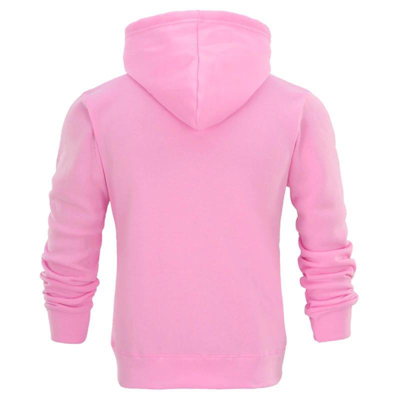 Men's Hoodie Fits Cotton Fall Pullover Sweatshirts Hoody