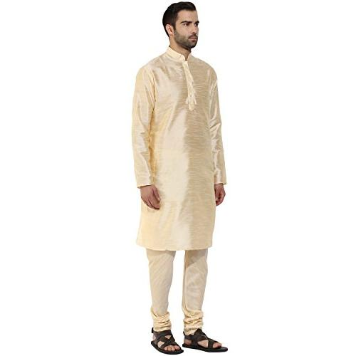 KISAH Men's Indian Silk for & Season