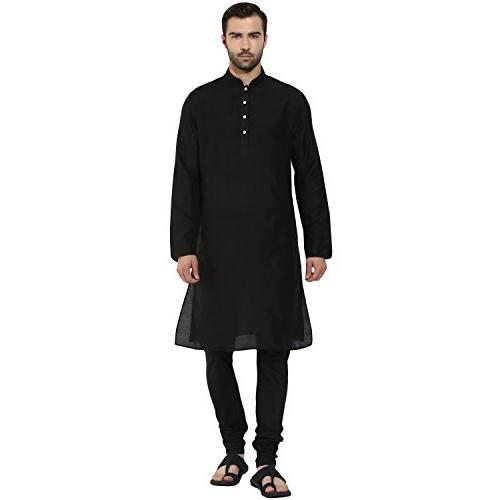 men s indian solid jaquard cotton silk