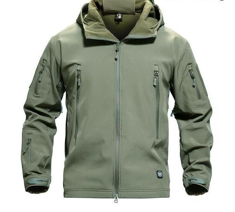 Men's Tactical Themed Waterproof Outwear