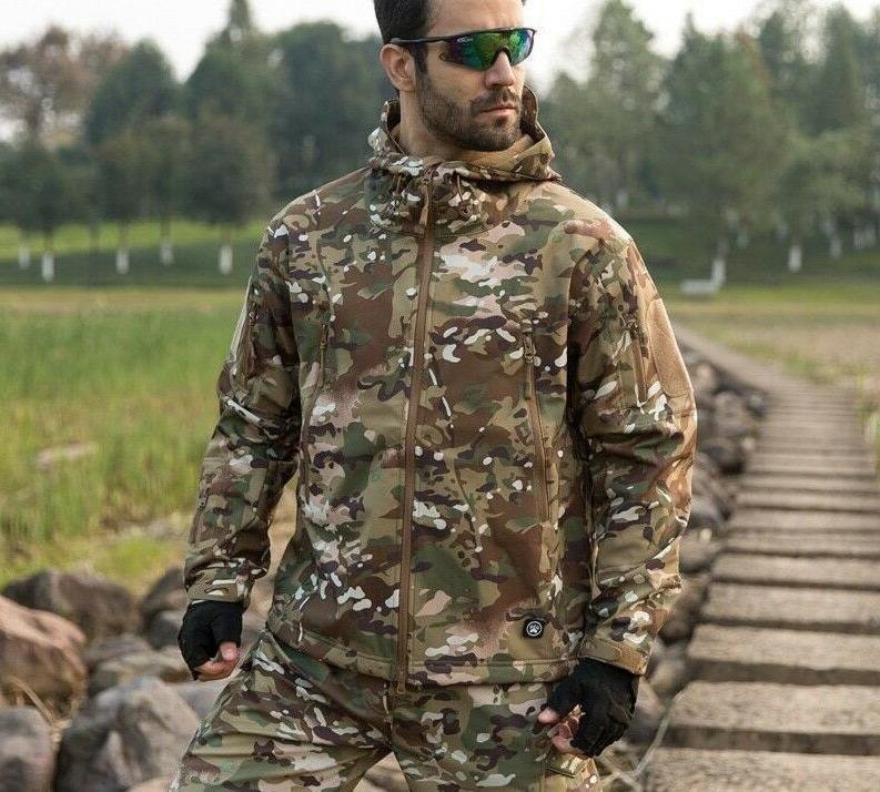 Men's Tactical Waterproof Windbreaker Outwear