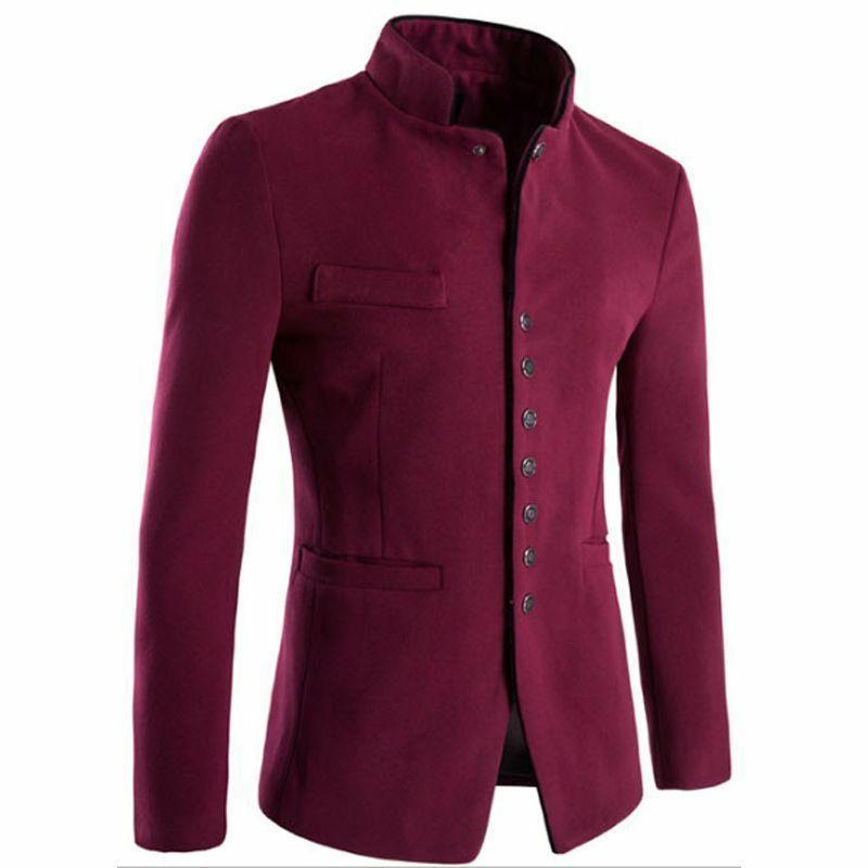 Men's Jacket Cotton Type Patterned Clothes