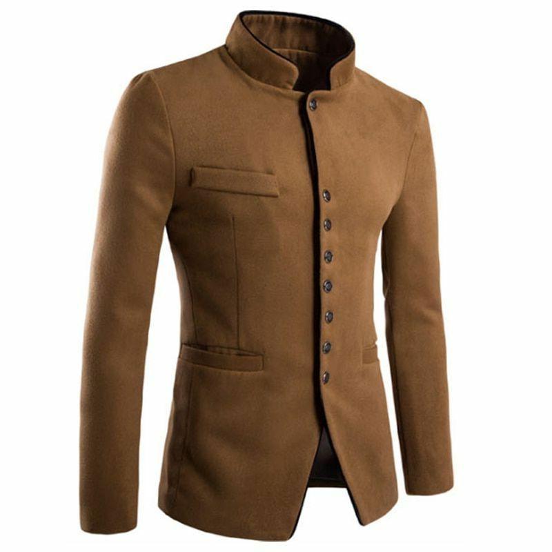 men s jacket cotton slim type formal