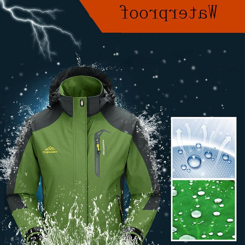 men s jackets waterproof spring hooded coats