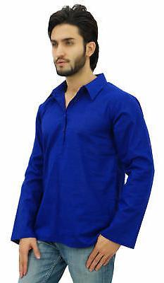 Atasi Blue Shirt Neck Ethnic Indian Clothing