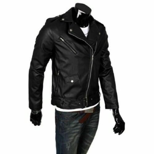 Men's Jacket Punk Motorcycle Coat