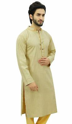 Atasi Men's Long Beige Ethnic Clothing