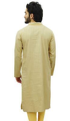 Atasi Men's Long Cotton Mandarin Ethnic