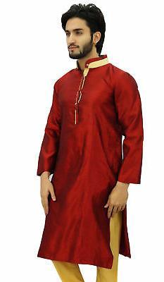 Dupion Collar Shirt Ethnic Clothing