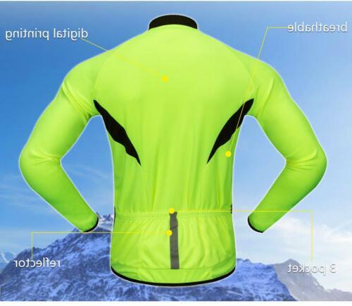 Men's Jersey Breathable MTB Tops Bike Gloves