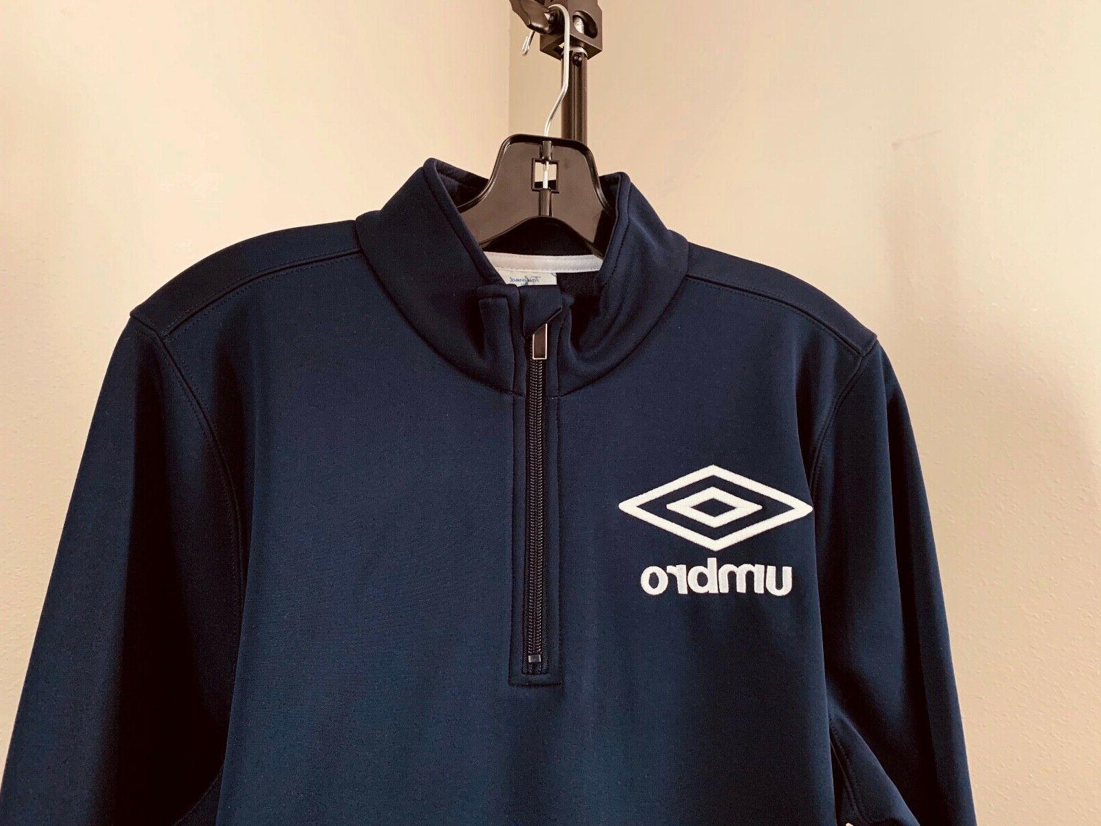 Men's M Umbro Soccer Tech Fleece Shirt