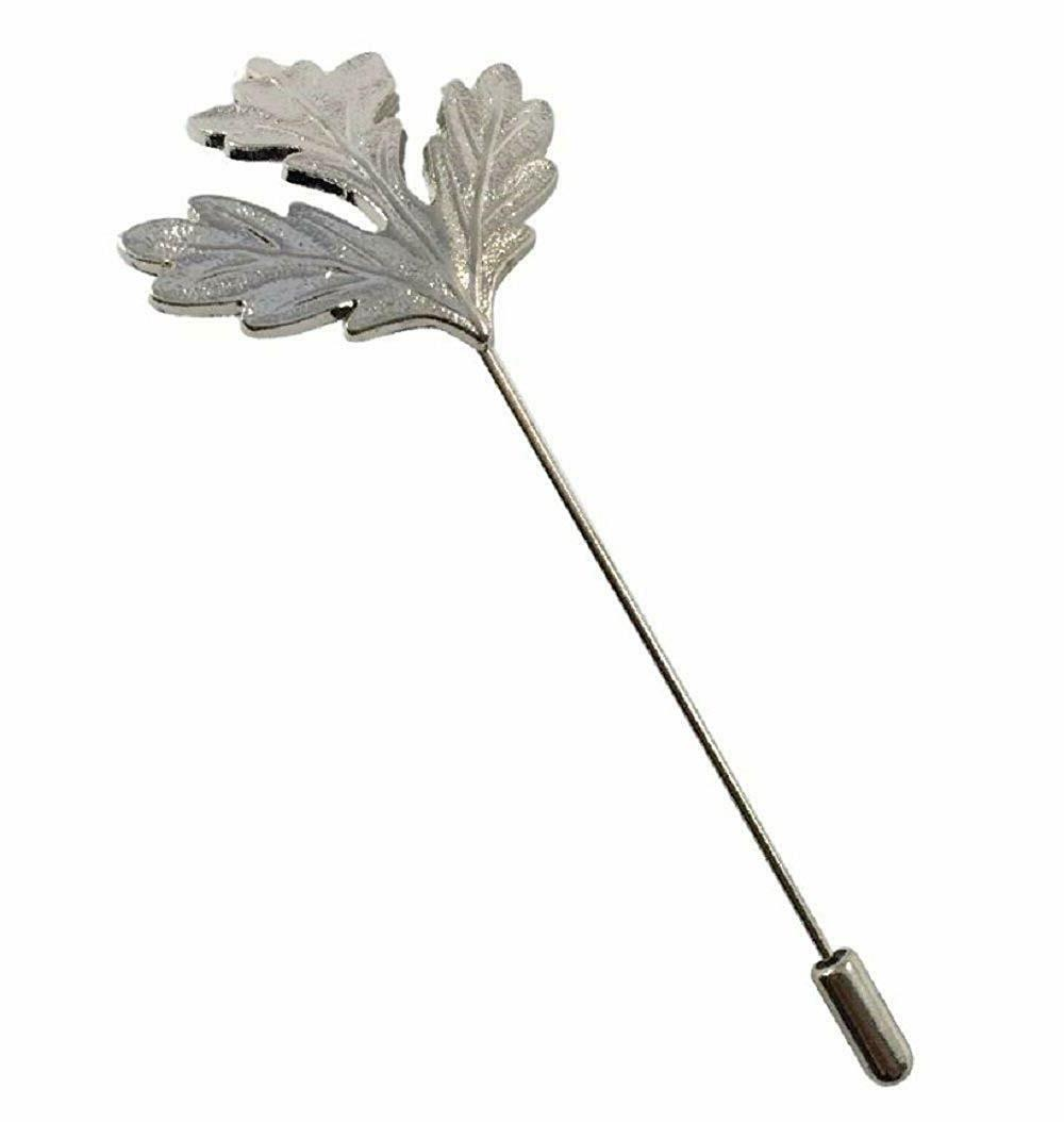 men s maple leaf lapel stick brooch