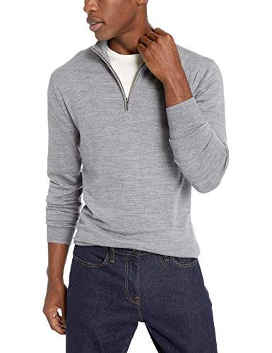 Goodthreads Merino Quarter Grey, XX-Large