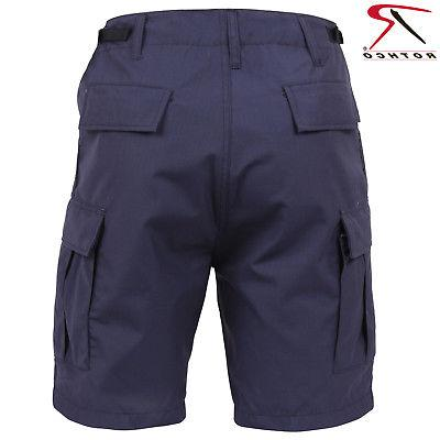 Men's Navy Blue Lightweight Shorts Rothco Cloth