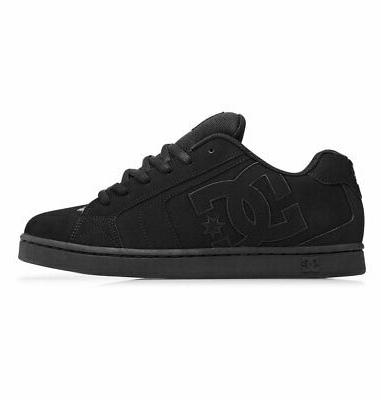 DC Shoes Men's Sneaker Shoes Black Kicks Trainers Sports Shoe Appar