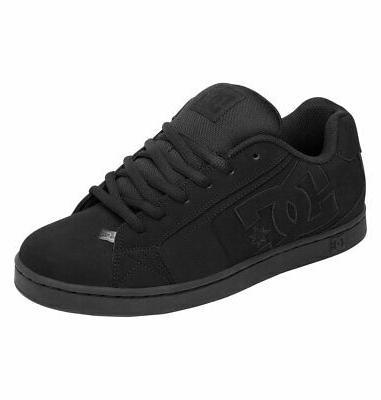 men s net sneaker shoes black kicks