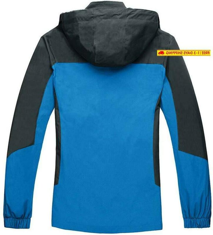 Tacvasen Outdoor Sports Hooded Windproof Thin