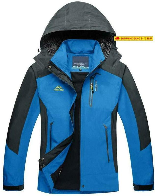 men s outdoor sports hooded windproof thin