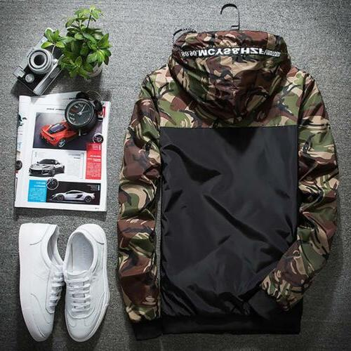 Men's Outwear Hoodies Jacket Male