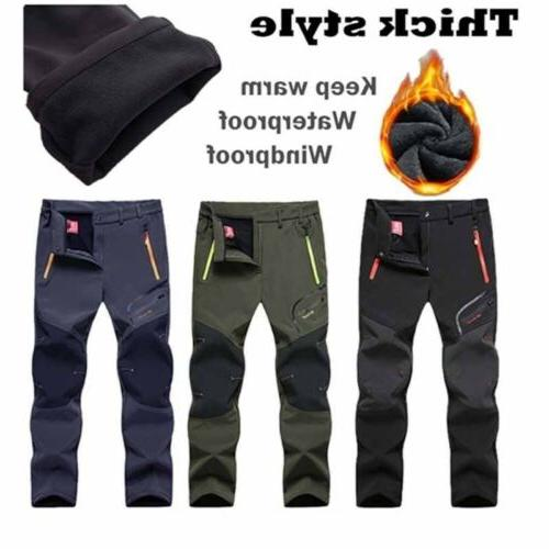Camping Trousers Skiing Waterproof Thick
