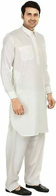 Maple Men's Pathani Indian Set Party Wear Clothes
