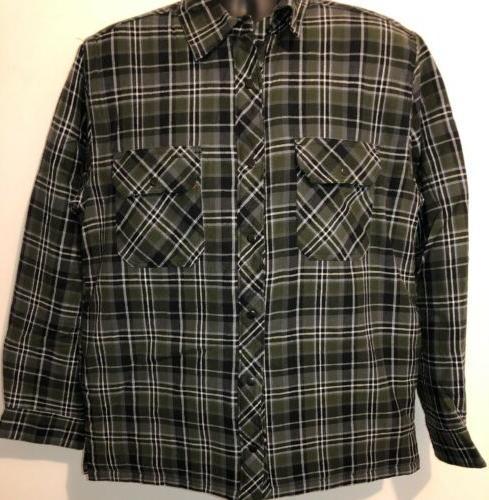 BC Clothing Shirt Jacket Lining With Tag