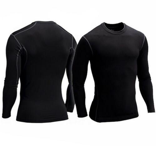 Men's Pro Shirt Layer Thermal Top Mock