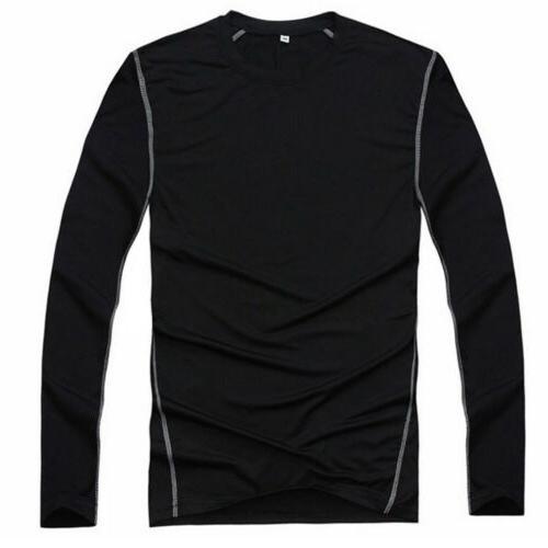Men's Performance Shirt Long Sleeve Layer Top