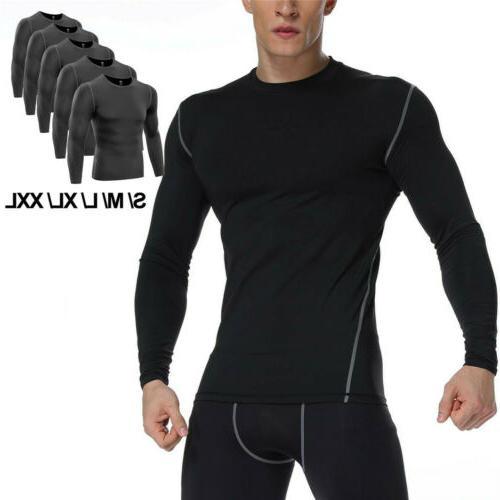 men s pro performance compression shirt long