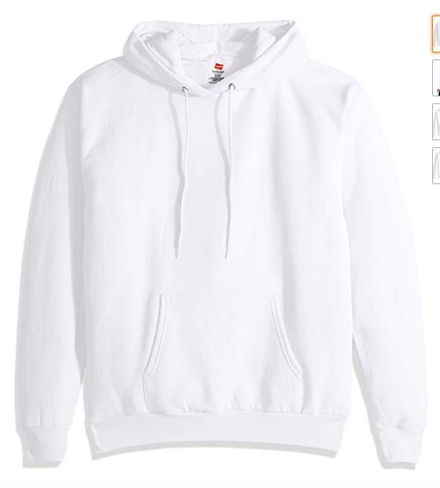 men s pullover ecosmart fleece hooded sweatshirt