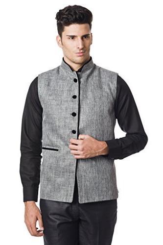 men s rayon bandhgala festive nehru jacket