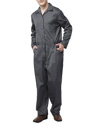 TopTie Long Zip Front Work Wear