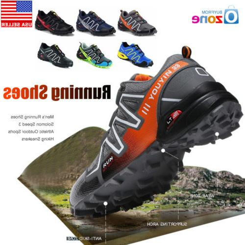 Men's Running Shoes Speed 3 Athletic Outdoor Sports Hiking S