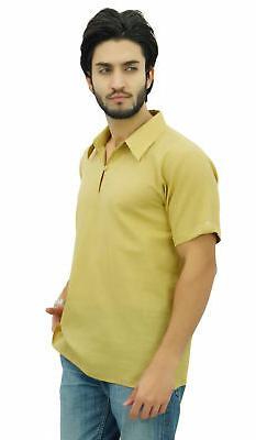 Atasi Men's Cotton Kurta Indian Casual