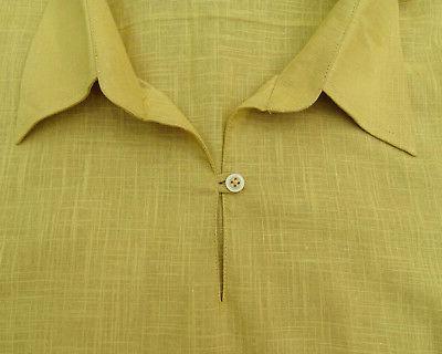 Atasi Men's Short Cotton Kurta Shirt Indian Clothing