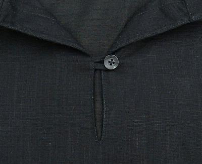 Atasi Black Cotton Shirt Indian Casual Clothing