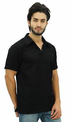 Atasi Men's Cotton Kurta Collar Indian